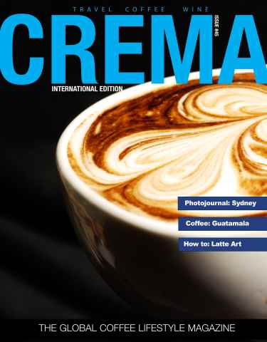 Crema Magazine issue Crema International Issue #45