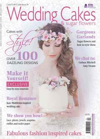 Cake Craft Guides issue Issue 24 - Wedding Cakes & Sugar Flowers