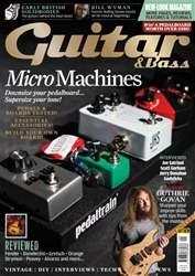Guitar & Bass Magazine issue Sep-15