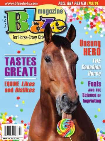 Blaze Magazine issue Issue No. 49 Summer 2015