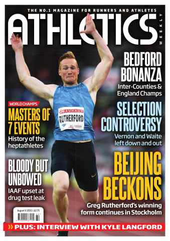 Athletics Weekly issue 06 August 2015