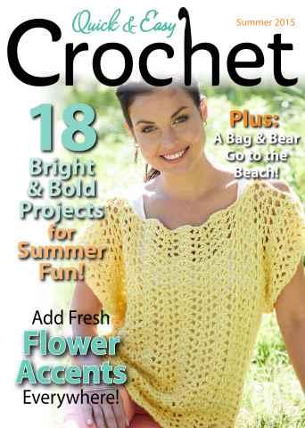 Quick & Easy Crochet issue Summer 2015