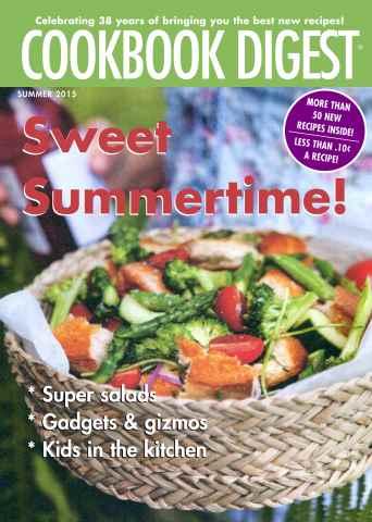Cookbook Digest issue Summer 2015