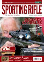 Sporting Rifle issue September 2015