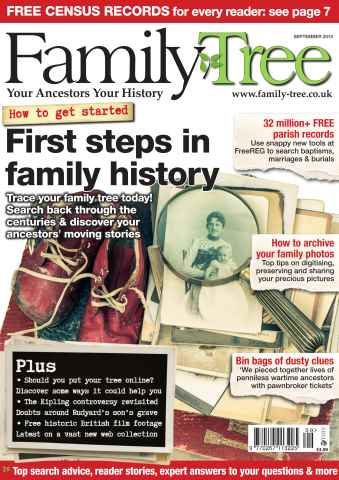 Family Tree issue Family Tree September 2015