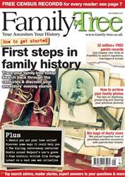 Family Tree issue Family Tree September 2015
