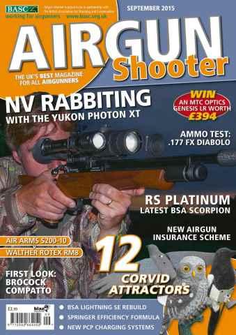 Airgun Shooter issue September 2015