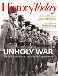 History Today issue September 2015
