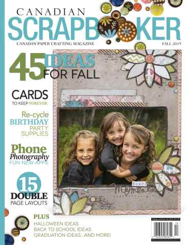 Canadian Scrapbooker issue Fall 2015