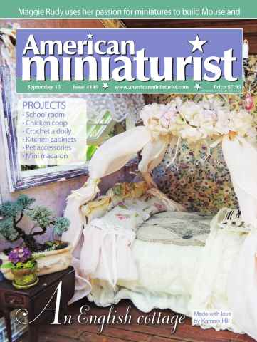 American Miniaturist issue Issue 149