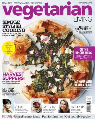 Vegetarian Living issue Sep-15