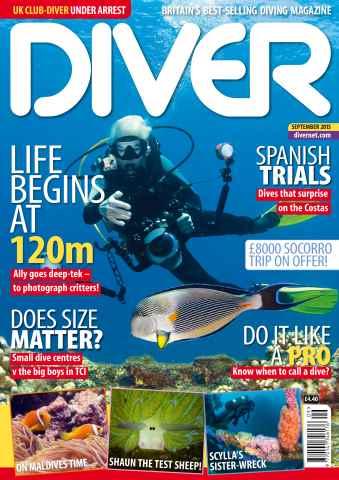 DIVER issue SEPTEMBER 2015