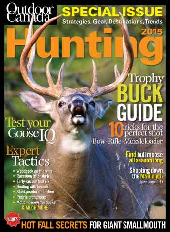 Outdoor Canada issue Hunt Special 15