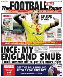 The Football League Paper issue 9th August 2015