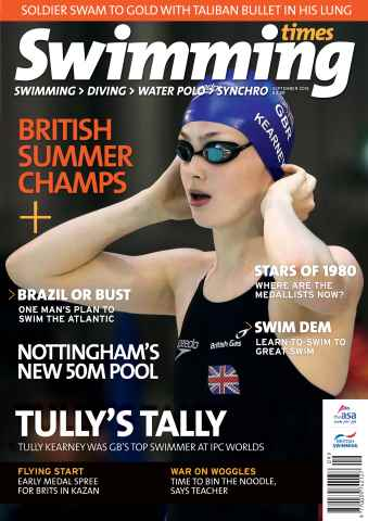 Swimming Times issue September 15