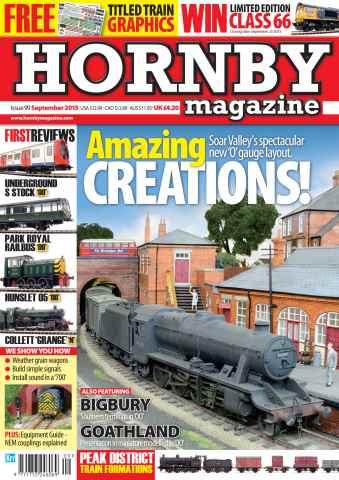 Hornby Magazine issue September 2015