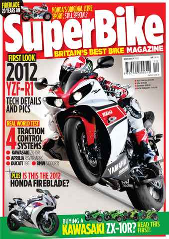 Superbike Magazine issue November 2011