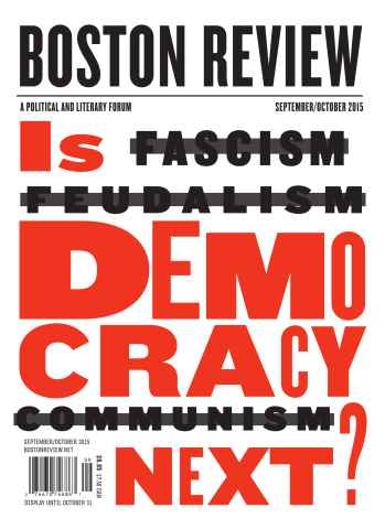Boston Review issue Sep-Oct 2015