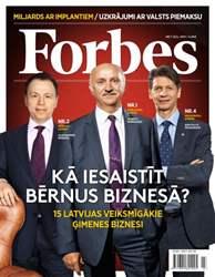 Forbes Jūlijs '15 issue Forbes Jūlijs '15