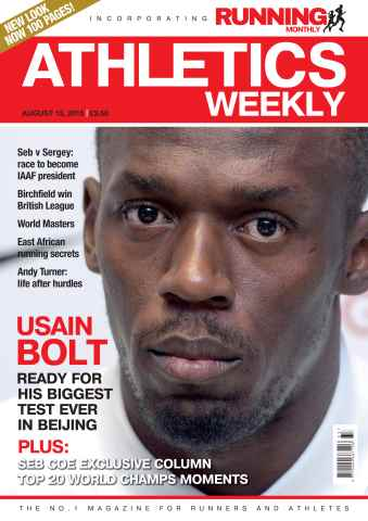 Athletics Weekly issue 13 August 2015