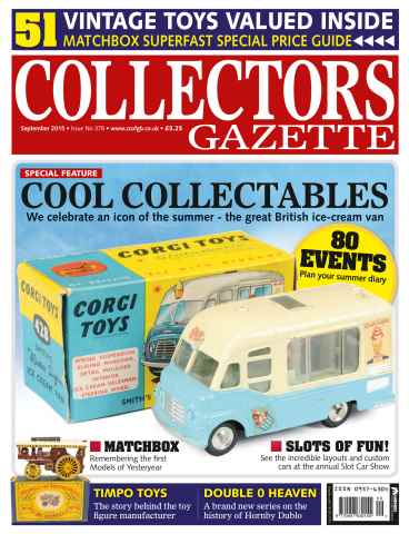 Collectors Gazette issue September 2015