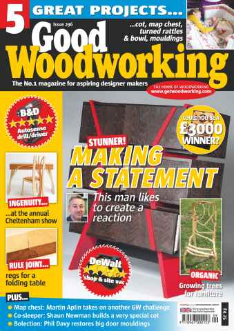 Good Woodworking issue September 2015