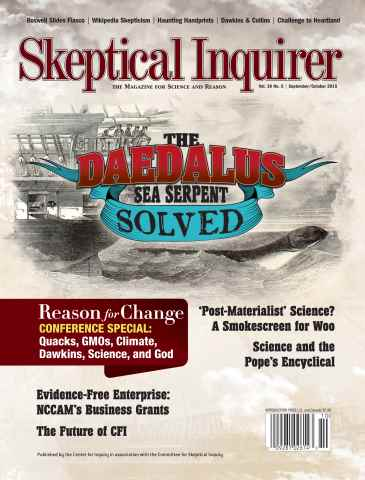 Skeptical Inquirer issue September October 2015