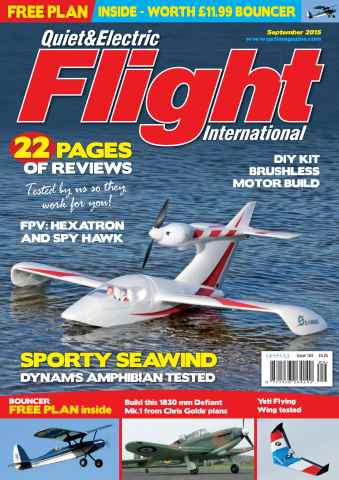 Quiet & Electric Flight Inter issue September 2015