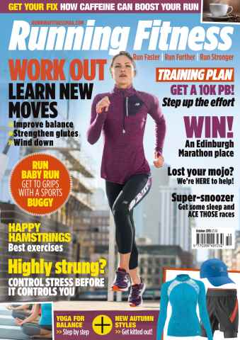 Running Fitness issue No. 181 Work out. Learn new moves.