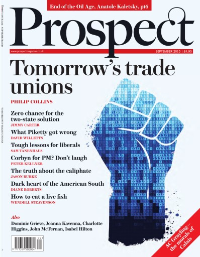 Prospect Magazine issue Prospect September 2015
