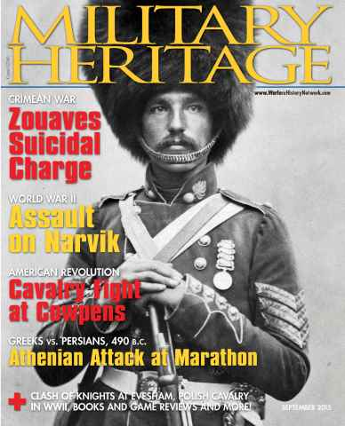 Military Heritage issue September 2015