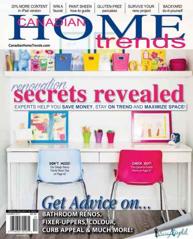 Canadian Home Trends issue Summer 2015