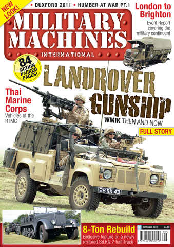 Military Machines International issue September 2011 - Vol.11 No. 4
