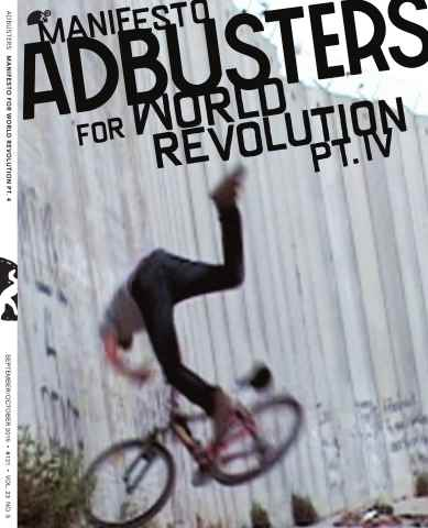 Adbusters issue Sept-Oct 2015
