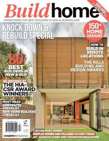 Build Home issue September Issue#22.1