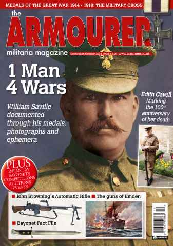 The Armourer issue Sept/Oct 2015