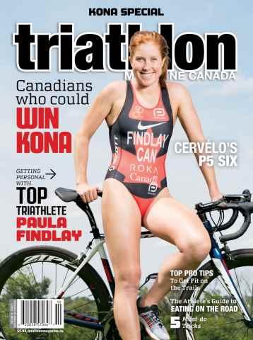 Triathlon Magazine Canada issue Volume 10 Issue 5