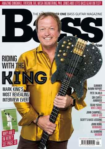 Bass Guitar issue September 2015