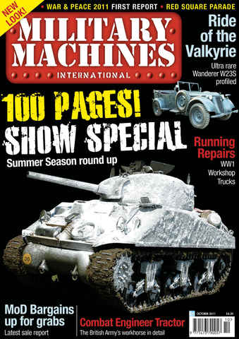 Military Machines International issue October 2011 Vol.11 No.5