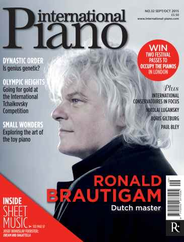 International Piano issue Sept - Oct 2015