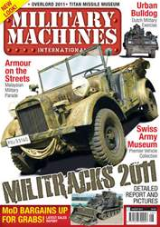 Military Machines International issue August 2011 Vol.11 No.3
