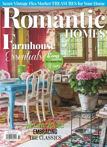 Romantic Homes issue October 2015