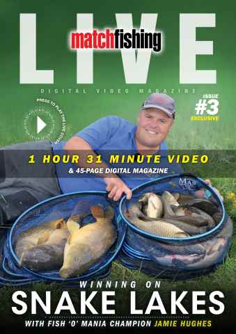 Match Fishing Live issue Issue 3