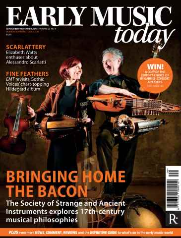 Early Music Today issue Sept - Nov 2015