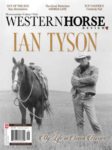 Western Horse Review issue Sept/Oct 2015