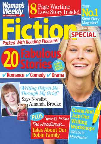 Womans Weekly Fiction Special issue October 2015