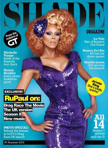 Gay Times issue SHADE - Summer 2015 - Fierce