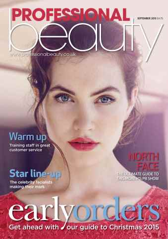 Professional Beauty issue Professional Beauty September 2015