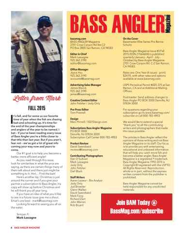 BASS ANGLER MAGAZINE Preview 6