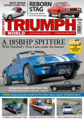 Triumph World issue No. 156 A 185BHP Spitfire